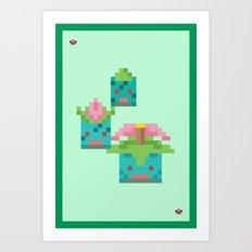 Green Family Art Print