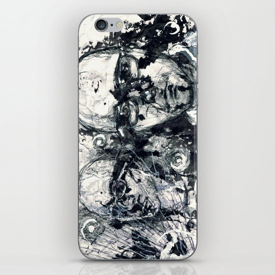 """Destroyed"" by Cap Blackard iPhone & iPod Skin"