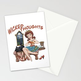 Wicked Thoughts Stationery Cards