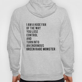 Green Rage Monster v2 Hoody