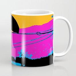 Tail Grabbing High Flying Scooter Coffee Mug