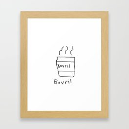 Bovril Framed Art Print