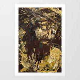 Golgotha III Art Print