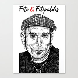 Fito y Fitipaldis Canvas Print