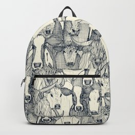 just cattle indigo pearl Backpack
