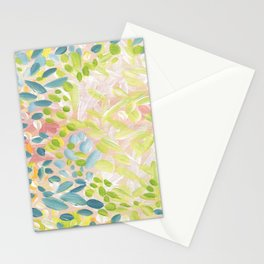 Abstract Flower Petals Stationery Cards