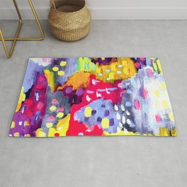 Painted Party Rug