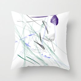 Diamond in the Rough Throw Pillow