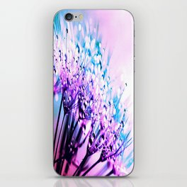 Bubblegum Candy Dandelion Dew iPhone Skin