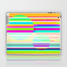 Re-Created Intersection V by Robert S. Lee Laptop & iPad Skin