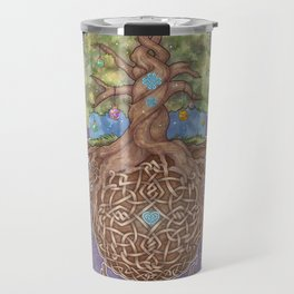 Gaia Life Tree Yggdrasil Travel Mug