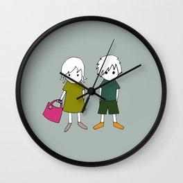 Olli & Olivia Wall Clock