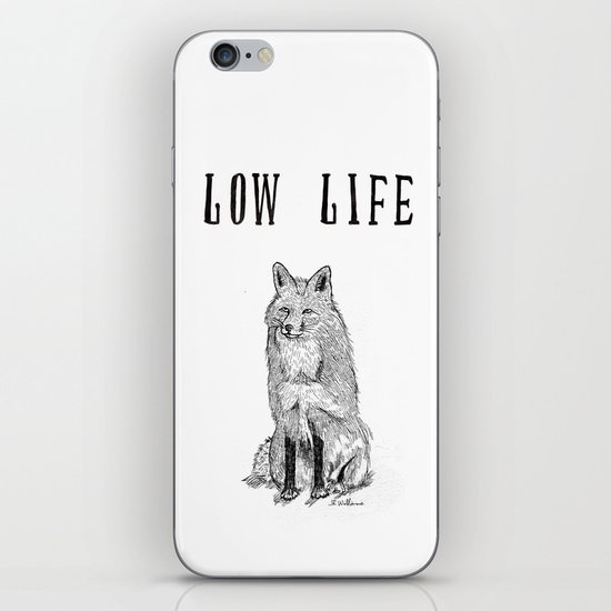 """Low Life"" part 2 iPhone & iPod Skin"