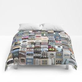 NUMBERS - San Francisco Comforters