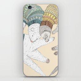 Ferret Sleep Love iPhone Skin