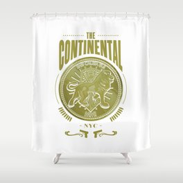 John Wick Continental Hotel Shower Curtain