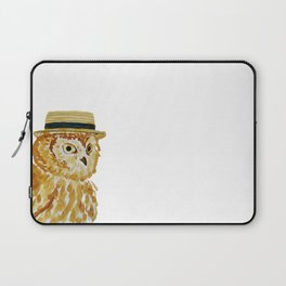 Dapper Owl or Owl Capone? Laptop Sleeve