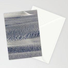 beautiful fresh snow Stationery Cards