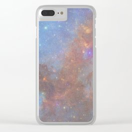 SPACE CAN0N Clear iPhone Case