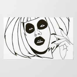 "Sharon Needles - ""FREAK EM OUT!"" Rug"