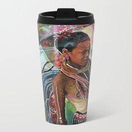 Sacred Wisdom Metal Travel Mug