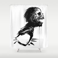 zombie Shower Curtains featuring Zombie by Torro