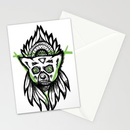 Wild Lemur Stationery Cards