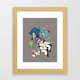 Transmitted or Perceived Framed Art Print