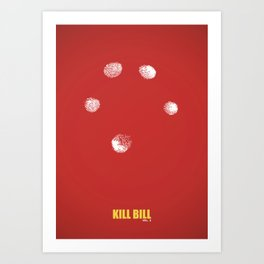 Kill Bill vol. 2 Art Print