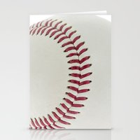 baseball Stationery Cards featuring Baseball by Pedro Nogueira
