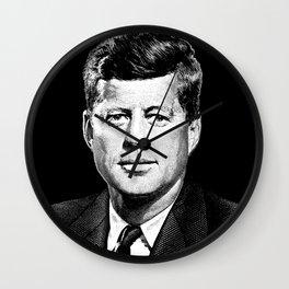 President John F. Kennedy Graphic Wall Clock