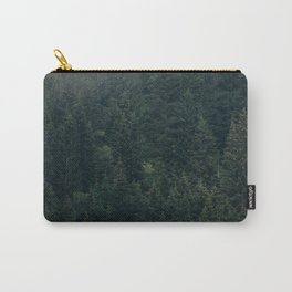 Mystic Pines - A Forest in the Fog Carry-All Pouch