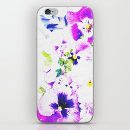 Paper Flowers iPhone Skin