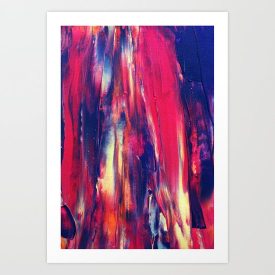 Abstract Painting 24 Art Print