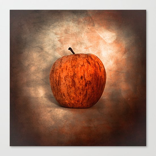 Once Upon an Apple Canvas Print