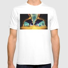 Under MacArthur MEDIUM Mens Fitted Tee White