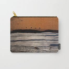Rust & Old Wood Carry-All Pouch