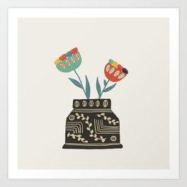 Floral vibes VI Art Print