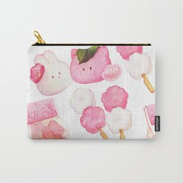 Hanami Green tea time Carry-All Pouch