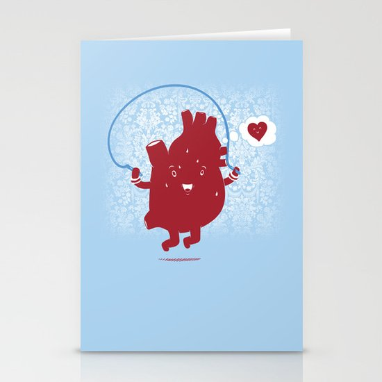 Cardio Ambition Stationery Cards