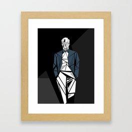 Corner Light Framed Art Print