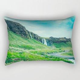 Seljalandsfoss Rectangular Pillow