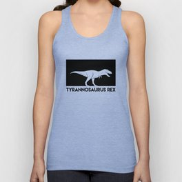 Tyrannosaurus Rex Dinosaur Unisex Tank Top