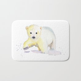 Little Polar Bear Bath Mat