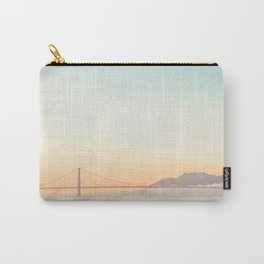 Pastel Golden Gate Carry-All Pouch