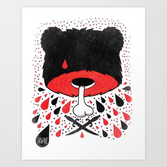SALVAJEANIMAL headless Art Print