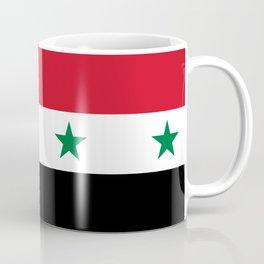 Syrian flag - may PEACE prevail Coffee Mug