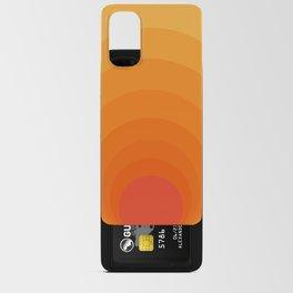 Sun Spiral   Bauhaus I Android Card Case