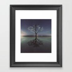 Mirrored Reality Framed Art Print