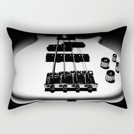 Bass Lines Rectangular Pillow